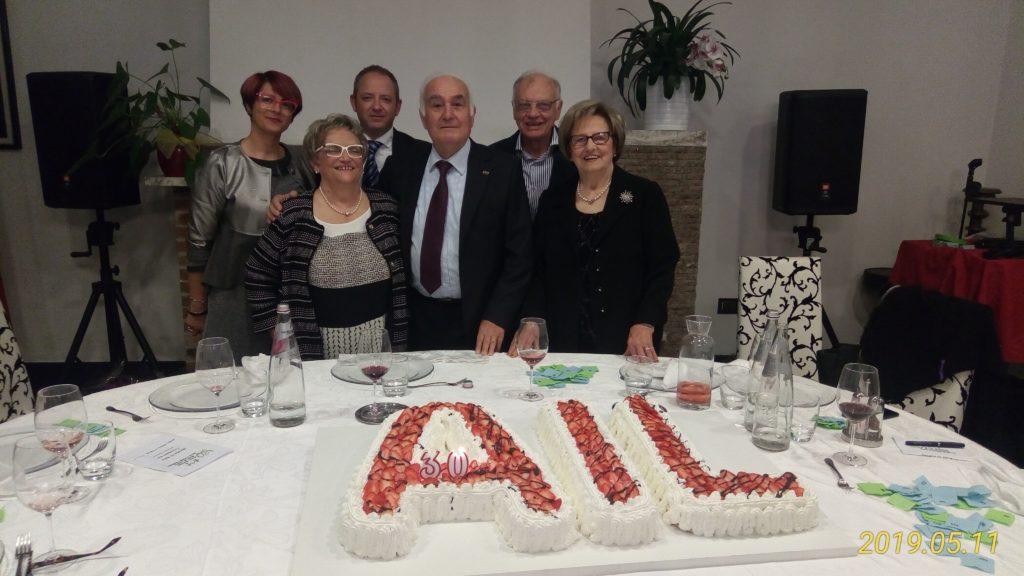 Ail Rovigo 30 Anni Presidente-Volontari